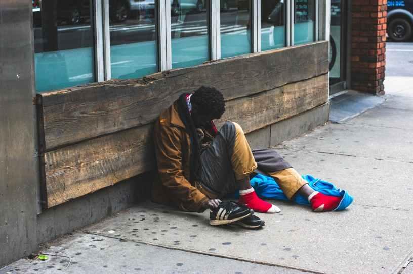 Homeless fear