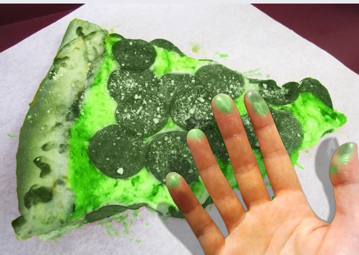 Toxic Glowing Pizza