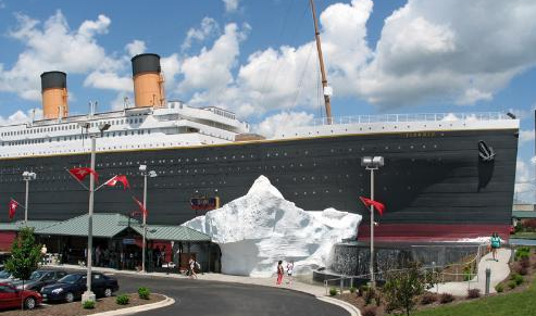 Sail on the Titanic in Missouri