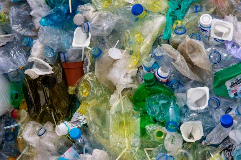 Plastic Bottle Pollution Recycle Blog
