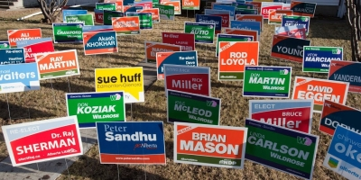 ban political signs blog story