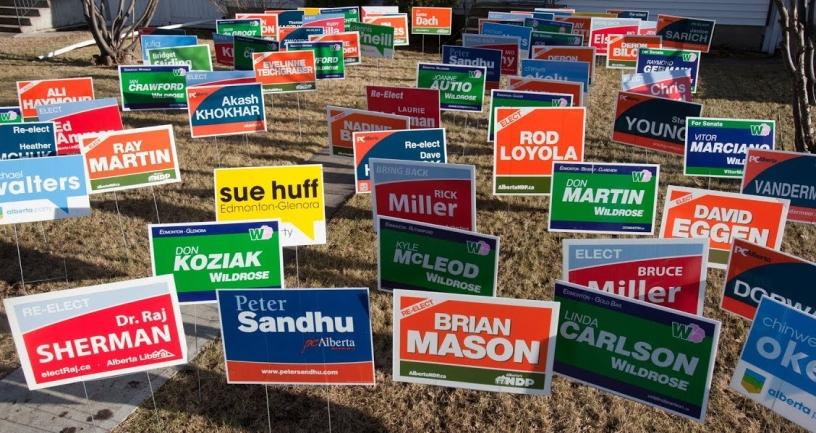 ban political signs blog story
