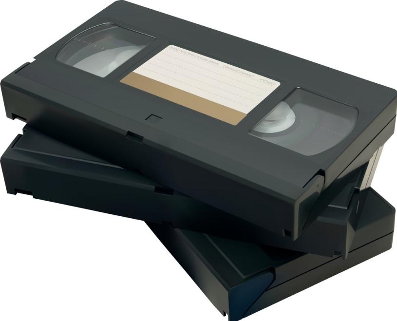 VHS tape 1980's vcr programming blog post